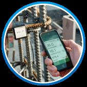 コンクリート電気抵抗率測定器