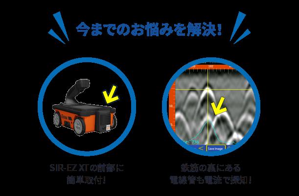 ストラクチャスキャン SIE-EZ XT 電線管判別ユニット