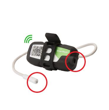 ワイヤレスコンクリート温度センサー SmartRock3 電源について