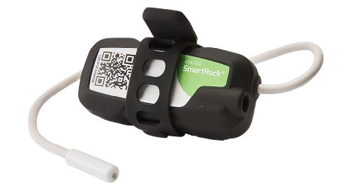 ワイヤレスコンクリート温度センサー SmartRock3 プロジェクト管理イメージ