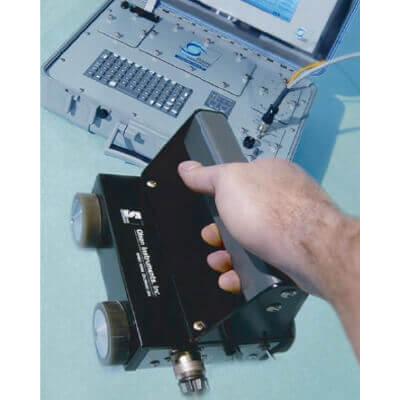 シース管グラウト充填探査器 衝撃弾性波スキャナー IES