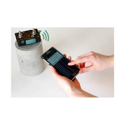 生コンクリート電気抵抗・温度測定器 SmartBox